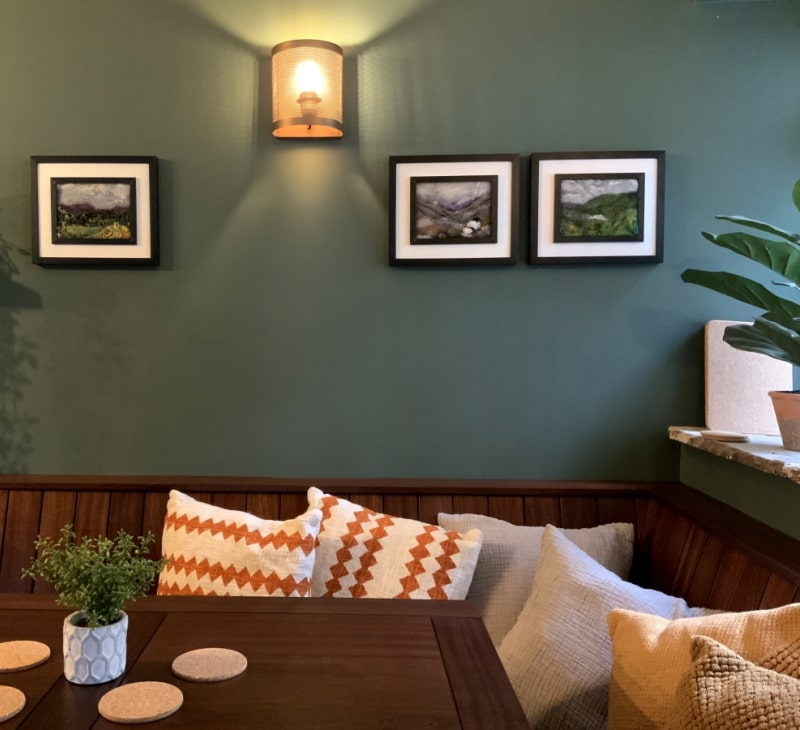 Pendle Hill holiday cottage | 12 Newchurch luxury self-catering holiday - dining
