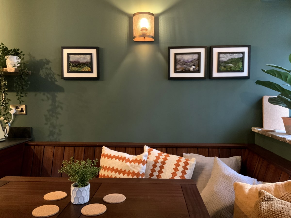 12 Newchurch luxury holiday cottage - Dining