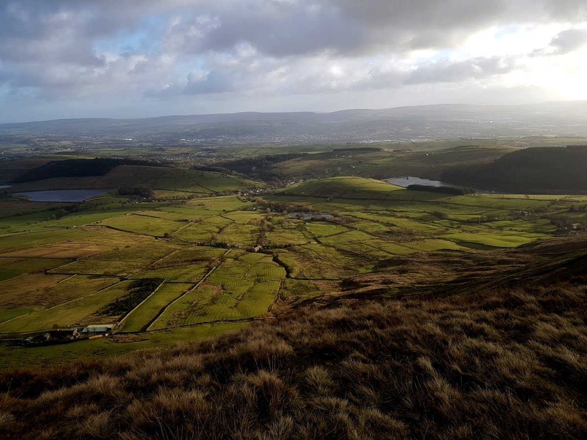 Pendle Hill holiday cottage   Pendle Hill walks