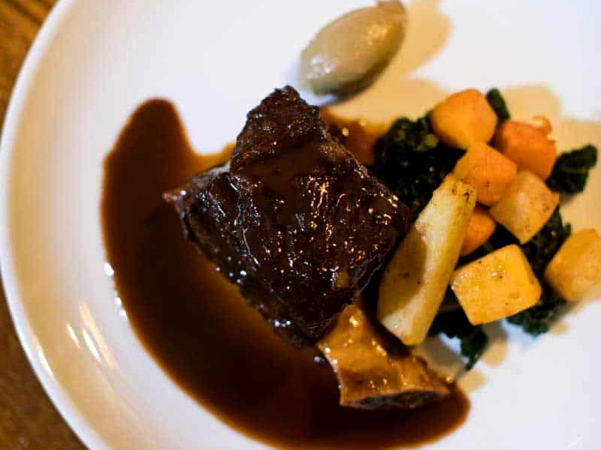 Braised Bowland Beef at the Parkers Arms